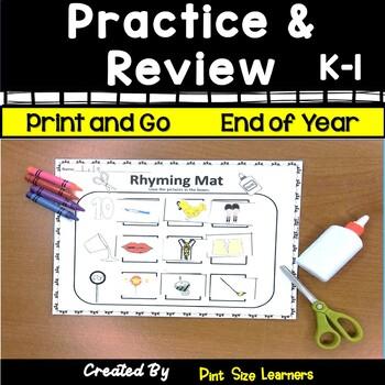 May ELA Review K and 1