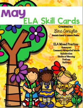May ELA Skill Cards