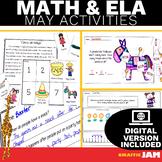 May ELA and Math Activities