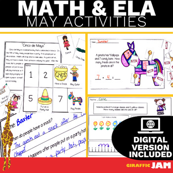 May ELA and Math Activities