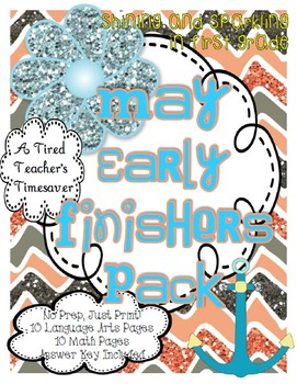 May Early Finishers Pack