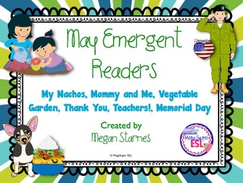 May Emergent Reader Mini-books (five readers)