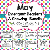 May Emergent Readers and Response Activities Growing Bundle