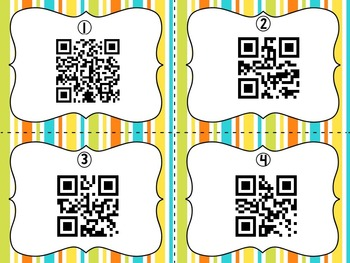 May Encyclopedia Research Task Cards with Self-Checking QR Codes