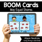 May Equal Shares Boom Cards™