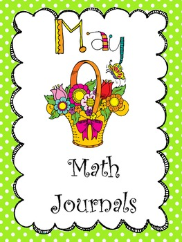 May Everyday Math Journals Printable