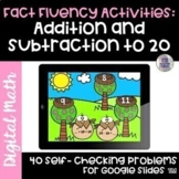 May Fact Fluency | Addition and Subtraction Within 20 | Go