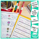Multiplication and Division Math Facts Worksheets: May