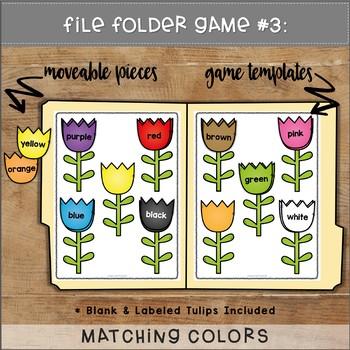 May File Folder Games