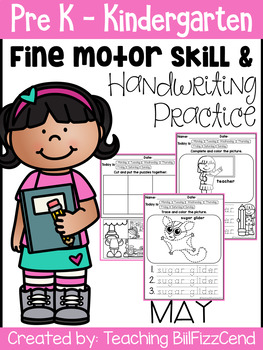 May Fine Motor Skill and Handwriting Practice