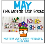 May Fine Motor Task Boxes