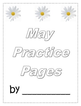 May Finished Work Packet - First Grade