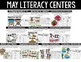 May First Grade Math & Literacy Centers