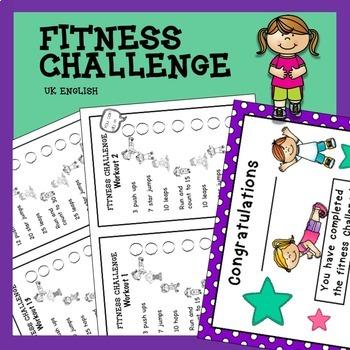 Fitness Challenge NO PREP AUS UK
