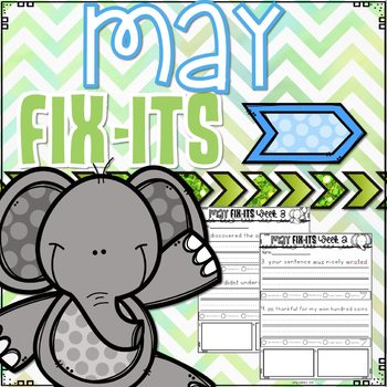 May Fix-It Sentences With Powerpoint