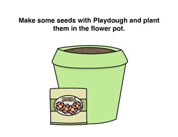 May Flowers Playdough Mats