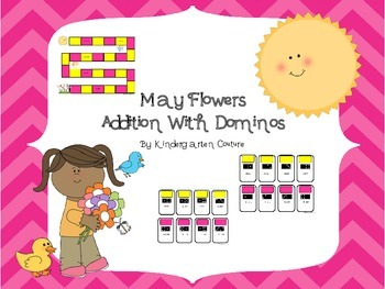 May Flowers - Addition With Dominos