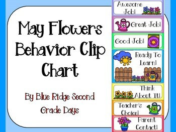 May Flowers Behavior Clip Chart