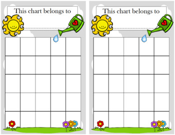May Flowers Incentive Chart
