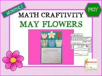 May Flowers Math Craftivity