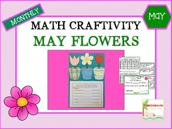 May Flowers Math Craftivity
