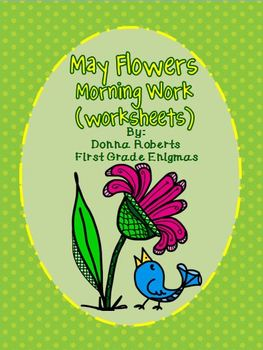 May Flowers Morning Work (worksheets)