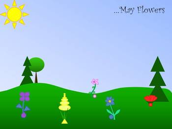 ...May Flowers Multiplication Freebie