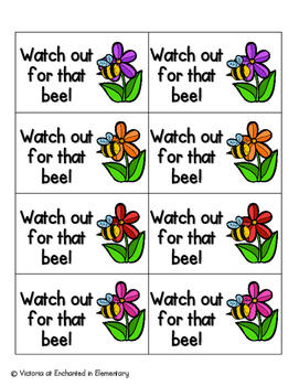 May Flowers Phonics: Short E Pack
