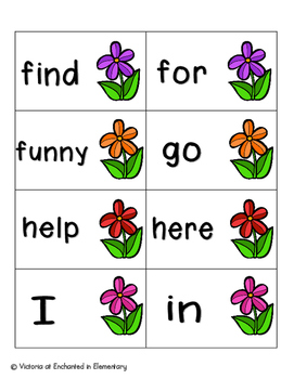 May Flowers Sight Words! Complete Set of 220 Sight Words