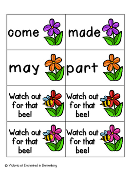 May Flowers Sight Words! Fry List 1