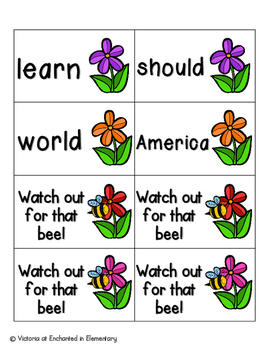 May Flowers Sight Words! Fry List 2