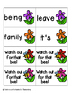 May Flowers Sight Words! Fry List 3