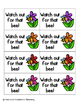 May Flowers Sight Words! Third Grade List Pack