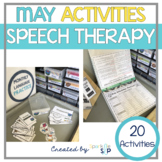 May Monthly Themed Therapy:  Flowers of Speech and Language