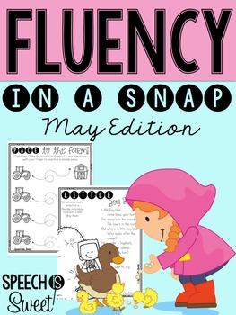 May: Fluency In a Snap {Stuttering}