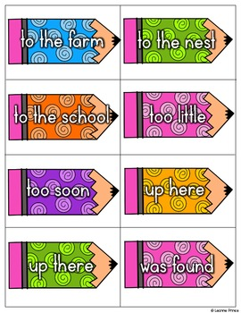May Fluency Practice