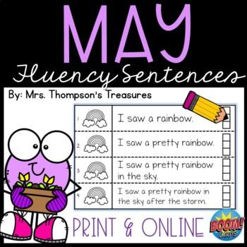 May Fluency Strips