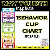 Space Behavior Chart EDITABLE
