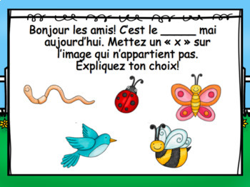 May French Morning Messages/Messages du matin: mai