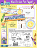 May Fun Pages - Coloring and Activity Download - Distance