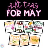May Gift Tags