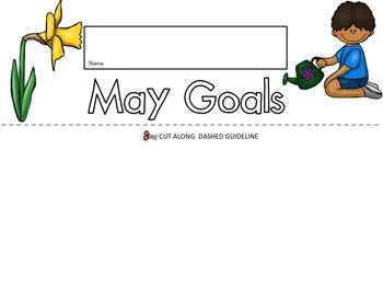 May Goals Flip Book