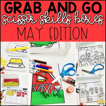 May Grab and Go Scissor Skills Activities