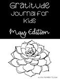 May Gratitude Journal for Kids