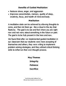 May Guided Meditation Bundle