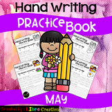 May Hand Writing Practice Book