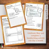May Handwriting Workbook