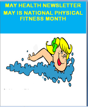May Health Newsletter- May is National Physical Fitness Month-activites