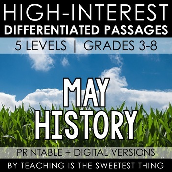 May Passages: History