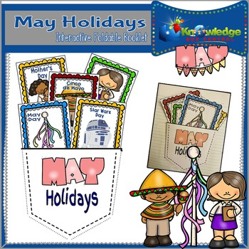 May Holidays Interactive Foldable Booklet